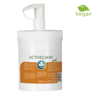 Annabis activecann gel de chanvre pour massage