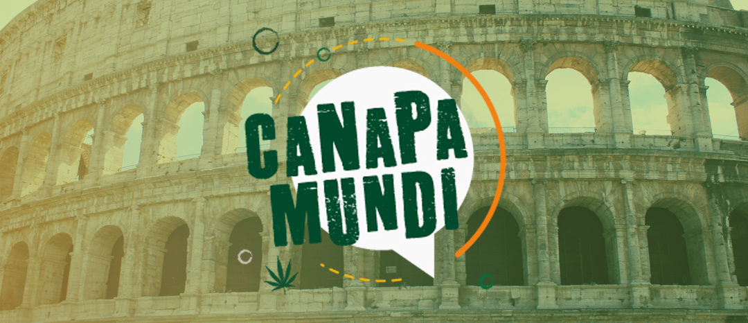 Internationale Hanf- und Cannabismesse Canapa Mundi in Rom