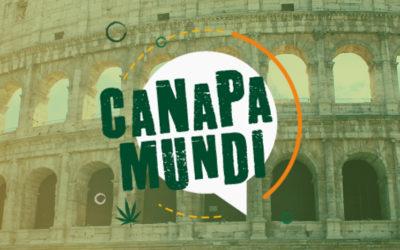 Internationale Hanf- und Cannabismesse Canapa Mundi in Rom